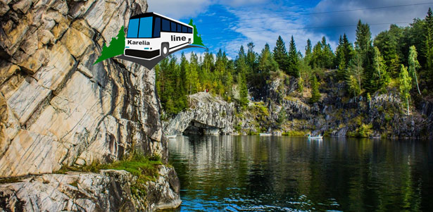 Скидка до 70% на автобусные туры в Карелию, Великий Новгород и Выборг от компании Karelia-line