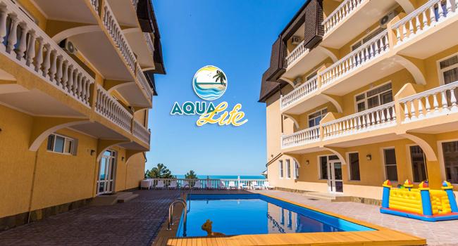 Скидка 50% на проживание для двоих или троих с развлечениями в отеле Aqua Life в Лоо
