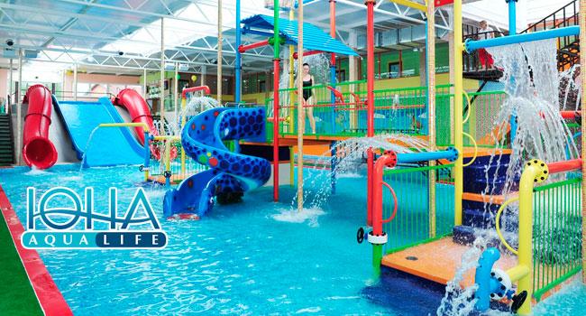Скидка до 58% на целый день посещения аквапарка «Аква-Юна» для взрослых и детей в любой день недели