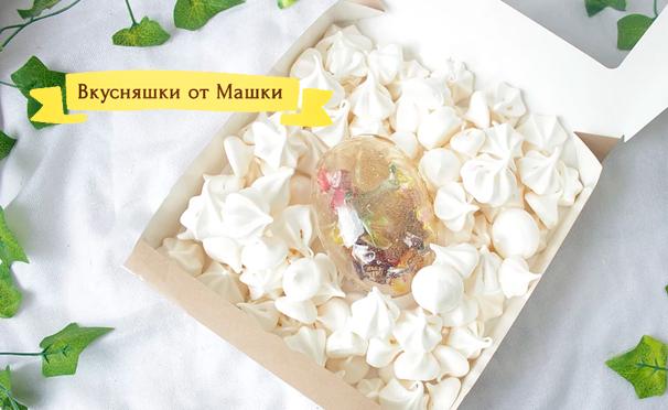 Сладости с фотографиями в подарочном наборе от компании «Вкусняшки от Машки». Скидка до 64%