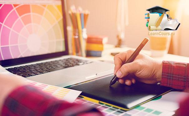 Онлайн-курсы Adobe Lightroom, Adobe Illustrator и Adobe Photoshop от студии онлайн-обучения Learncours. Скидка до 97%