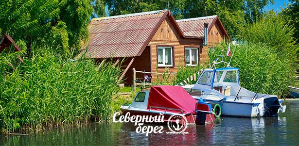 Скидка до 32% на проживание в усадьбе для компании до 15 человек, а также аренда беседки  в загородном клубе «Северный берег» на озере Хепоярви в 15 км от Петербурга