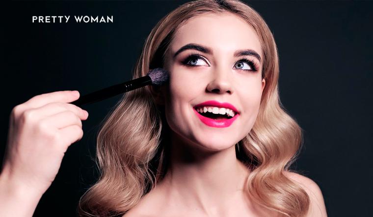 Скидка до 93% на мастер-классы и групповые курсы макияжа на выбор в школе визажа и причесок Pretty Woman