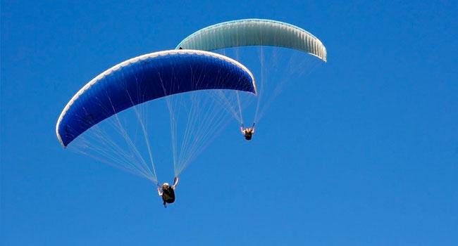 Полет на параплане с инструктором для одного или двоих от парапланерного экстрим-клуба «Летим со мной». Скидка до 53%