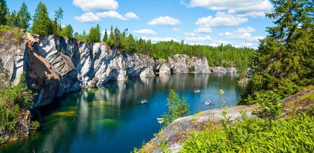 Двухдневная поездка в Карелию от туристической компании «Хохлома Тур» со скидкой 54%