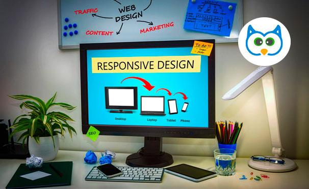 Создание сайта или мобильного приложения + продвижение бизнеса в соцсетях от компании Owl Website. Скидка до 90%