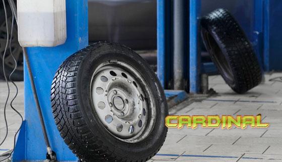 Скидка 79% на шиномонтажные работы в автосервисе «Кардинал»