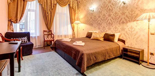 Скидка 50% на отдых для двоих в «Гостевых комнатах на Марата, 8»: собственный санузел, кухонный уголок, камин, постельное белье и другие удобства!