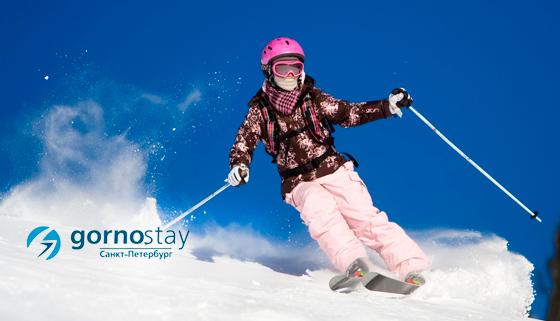 Обучение катанию на сноуборде или горных лыжах на тренажере в клубе Gornostay со скидкой до 59%
