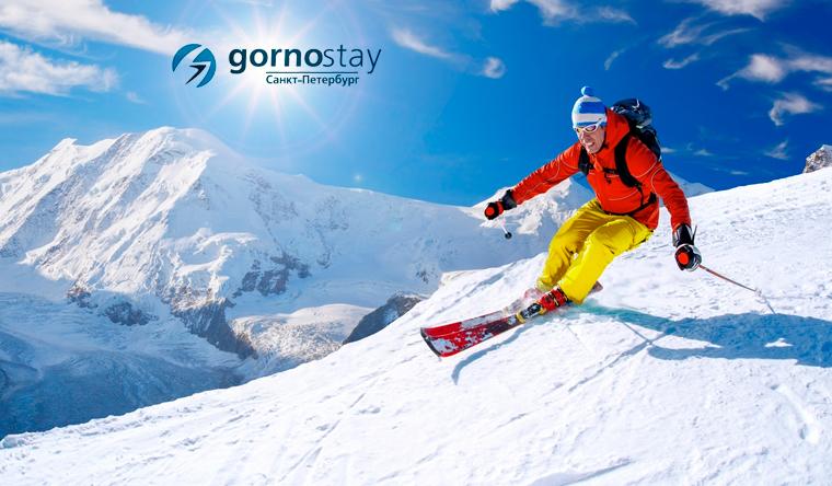 Обучение катанию на сноуборде или горных лыжах на тренажере для 1 или 2 человек в клубе Gornostay. Скидка до 59%