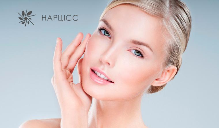 Атравматичная или УЗ-чистка лица, гликолевый или брусничный пилинг, аппаратное лечение акне или RF-лифтинг в салонах красоты «Нарцисс». Скидка до 80%