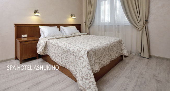 Проживание для двоих в спа-отеле «Ашукино»: питание, фитнес-зал, бильярд, бесплатный Wi-Fi и многое другое! Скидка 40%