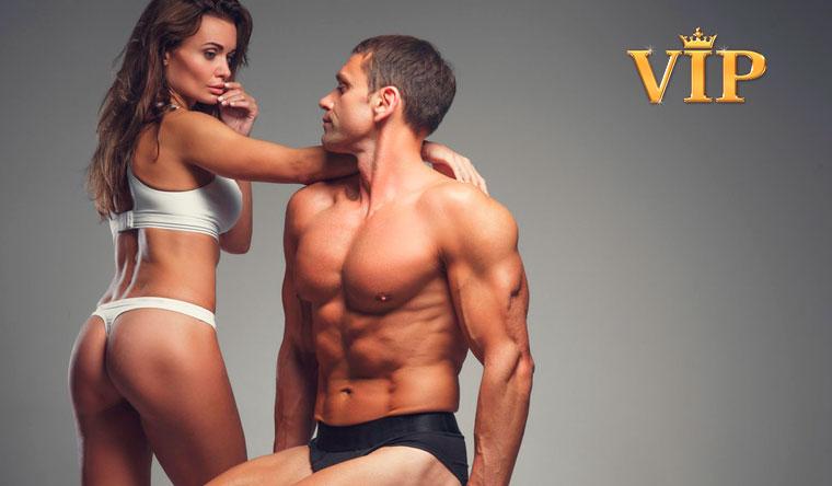 Скидка 50% на 2 эротические программы для мужчин в салоне эротического массажа VIP