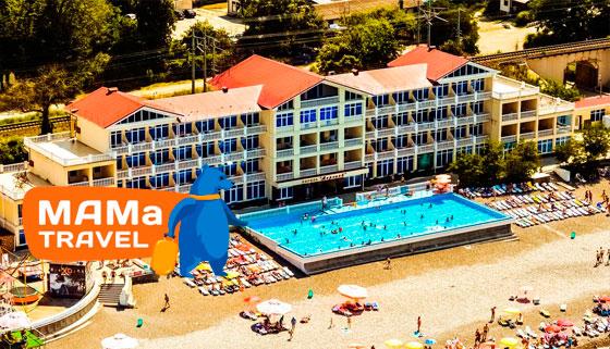 Проживание для двоих в оздоровительно-развлекательном комплексе «АкваЛоо» от туристической компании Mama Travel: номер «Стандарт», питание «Все включено», санаторно-курортное лечение, крытый аквапарк, боулинг, бильярд и не только! Скидка 50%