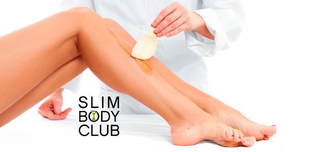 Скидка до 62% на эпиляцию сахарной пастой различных зон в студии красоты Slim Body Club