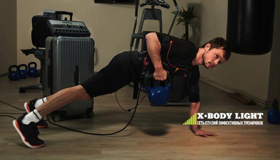 EMS-тренировки на тренажере X-Body в сети студий X-Body Light со скидкой до 46%