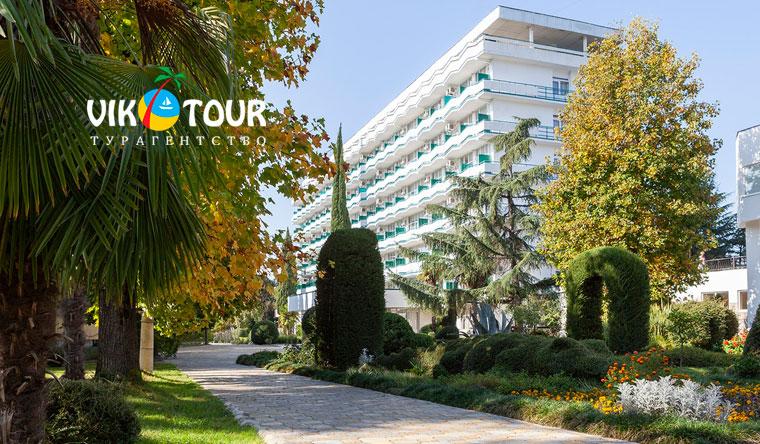 Скидка до 50% на отдых для двоих в санаторно-курортном комплексе «Знание» от турагентства Vik-Tour: 3-разовое питание, лечебная программа, бассейн, Wi-Fi и не только!