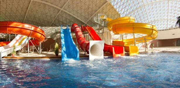 Взрослые и детские билеты в аквапарк Mountain Beach в Красной Поляне со скидкой 40%