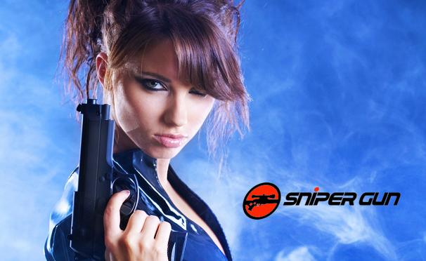 Стрельба из лука, арбалета и пневматического оружия для одного, двоих или четверых  в тире Sniper Gun. Скидка до 54%