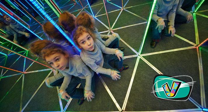Посещение зеркального и ленточного лабиринта для одного или компании до 6 человек в парке развлечений «Виртуалити». Скидка до 60%