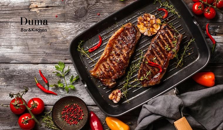 Скидка 50% на Любые блюда из меню и напитки в клубе-ресторане Duma Bar & Kitchen