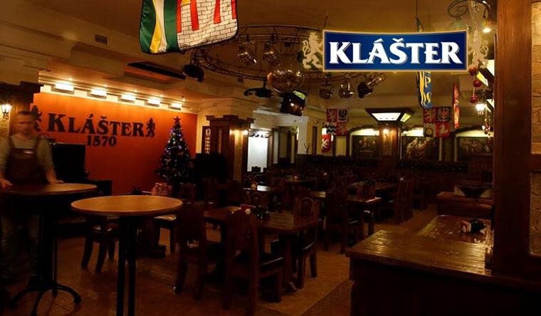 Всё меню и напитки в баре Klaster в Жулебино: свиная рулька, утка по-чешски, фирменные колбаски и не только! Скидка до 50%